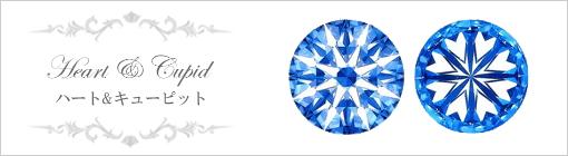 選ばれた職人にしか実現できない最新のカッティング技術をほどこしたダイヤモンドだけが「ハート&キューピット」と呼ばれることを許されているのです。